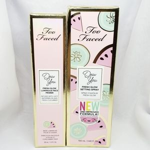 Too Faced Dew You Prime & Set Duo